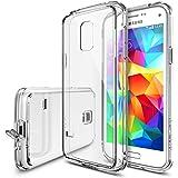 Galaxy S5 Mini Custodia, Ringke FUSION Custodia [Gratuito Pellicola][CRYSTAL VIEW] Shock Assorbimento di Paraurti Premio Ibrido Difficile per Samsung Galaxy S5 Mini