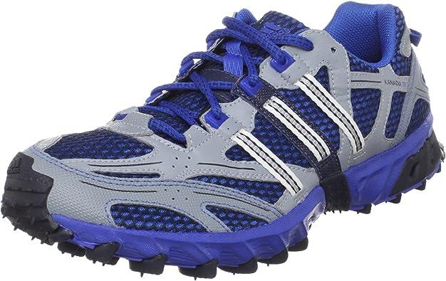 Bronceado Dar una vuelta cocina  Amazon.com: adidas – Camiseta de running Kanadia Trail 3 m – Zapatillas de  running de verano, Azul, 12.5 D(M) US: Shoes