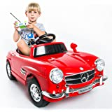 RED Mercedes Benz 300sl Amg Rc Electric Toy Kids Baby Ride on Car