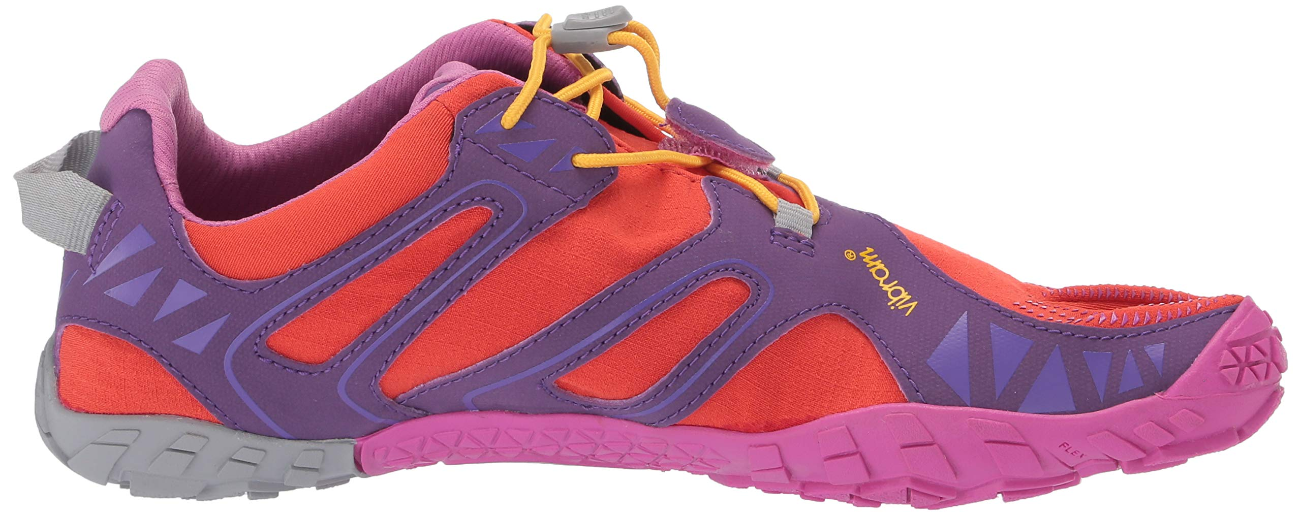 Vibram FiveFingers V-Trail, Women's Trail Running Shoes, Orange (Magenta/Orange), 6-6.5 UK (38 EU) by Vibram (Image #6)