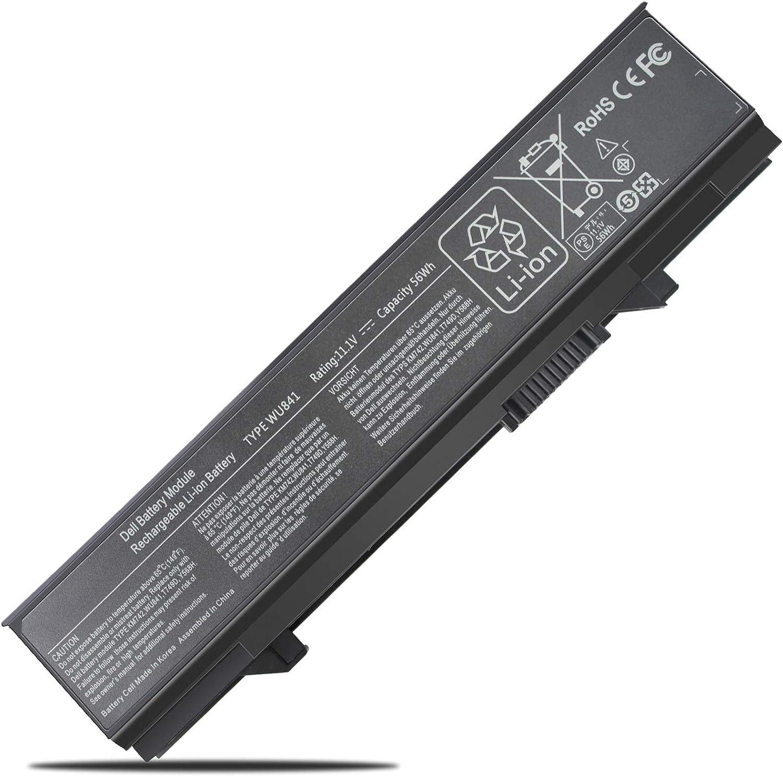 Vinpera 56Wh WU841 Laptop Battery for Dell Latitude E5400 Latitude E5410 Latitude E5500 Latitude E5510 Latitude E5550 fits P/N KM742 KM769 KM970 RM649 RM656 RM661 T749D