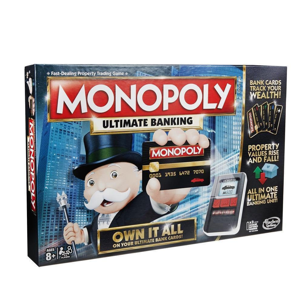 Hasbro Monopoly Ultimate Banking Game Ages 8 and Up, 2 - 4 Players product image