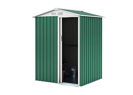 GARDIUN Caseta Metálica Milton (Verde) - 2 m² Ext.