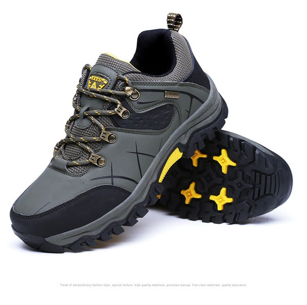 Spring And Autumn Men's Outdoor Anti-skid Climbing Shoes Multi-color Multi- size: Amazon.co.uk: Sports & Outdoors