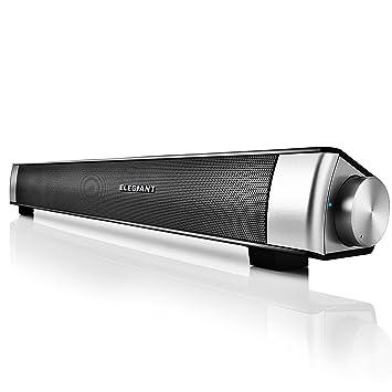 ELEGIANT Enceinte Bluetooth Haut Parleur Barre De Son Sans Fil Speaker Soundbar Wireless Portable