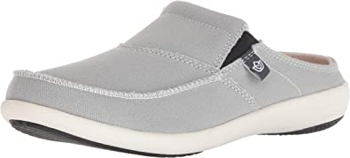 9 Medium Spenco Soltice Slide Women/'s Supportive Casual Shoe Grey