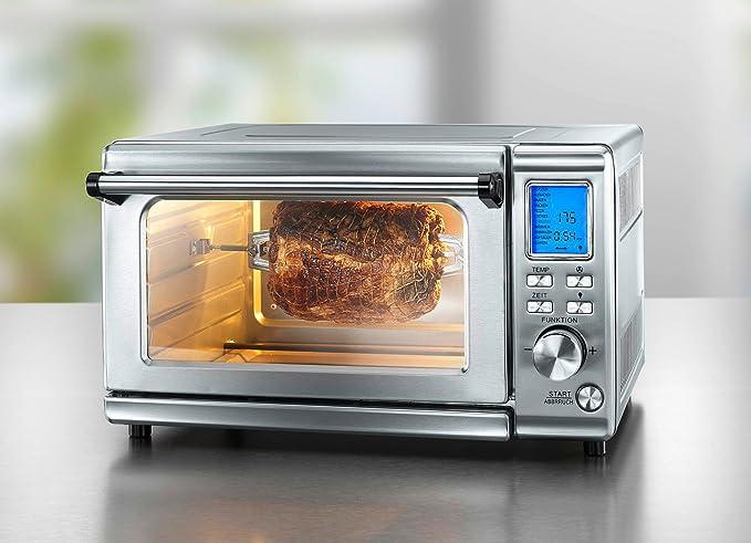 Digital de acero inoxidable horno, 28 litros de capacidad, 11 ...