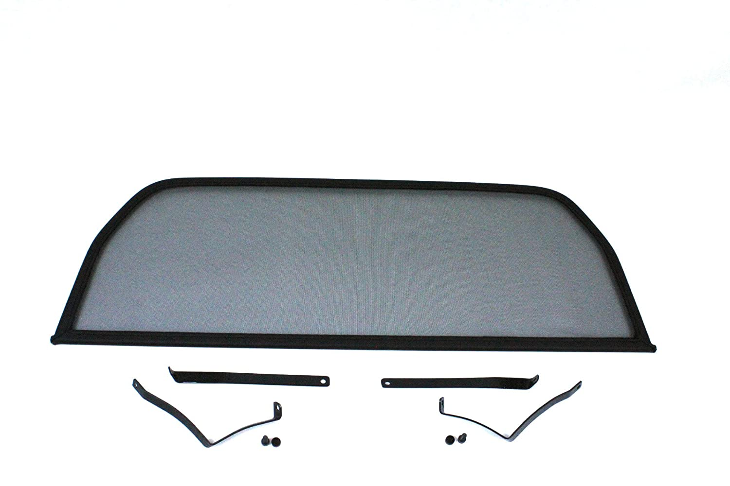 GermanTuningParts Dé flecteur de vent pour Alfa Spider 105 115 (1964-1994) - Noir | Filet Anti-Remous Coupe | Dé flecteur d'air
