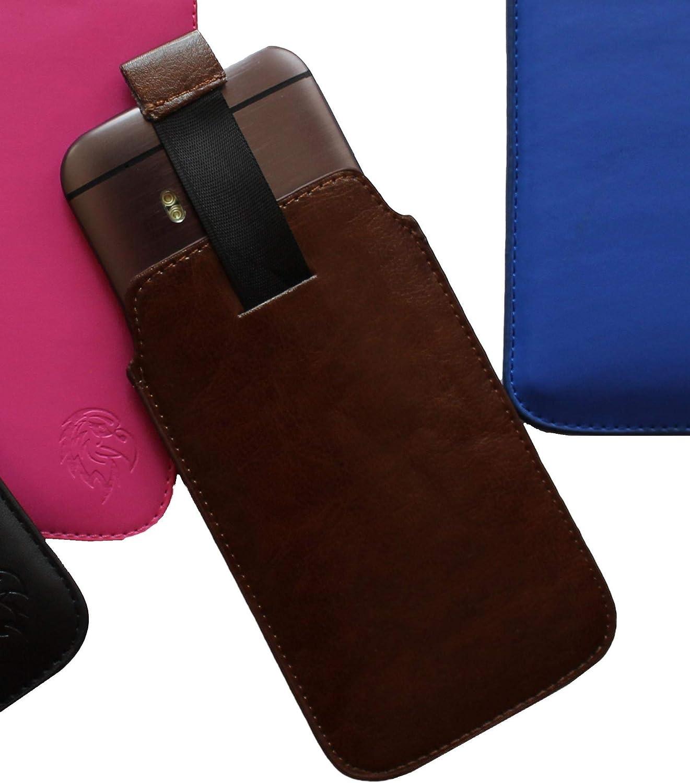 Tab-/étui t/él/éphone Portable extractibles Dealbude24 /Étui de Protection pour Apple iPhone et iPod diff/érentes Couleurs Motif Aigle Cousu /étui Fin avec Languette dextraction