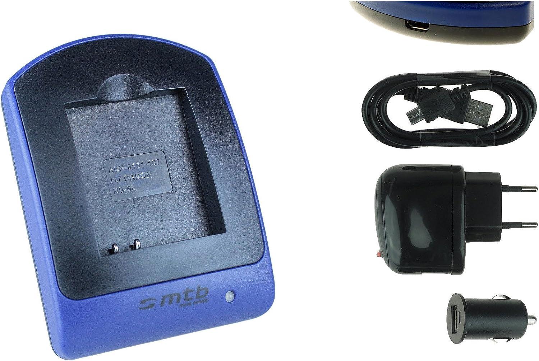 Ladegerät Nb 6l Für Canon Ixus 105 310 Hs Kamera