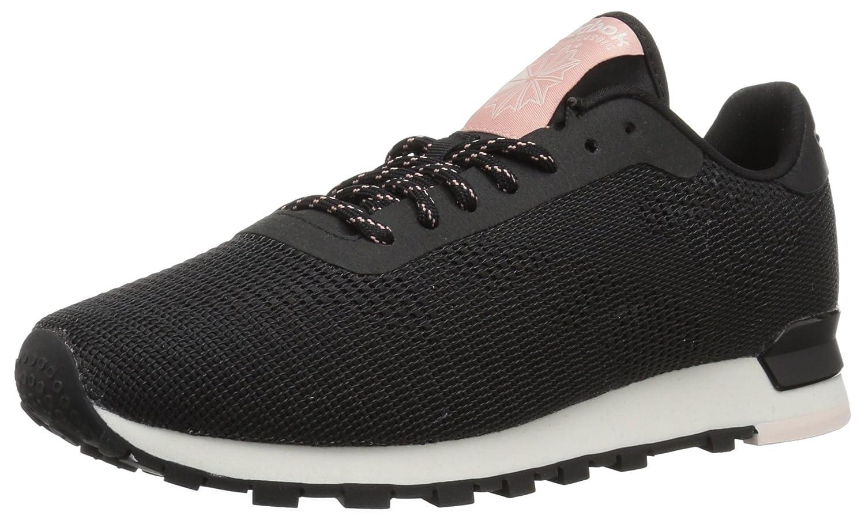Reebok Women's Classic Flexweave Sneaker B072M8H12K 7 B(M) US|Black/Chalk/Pale Pink/Chalk Pink