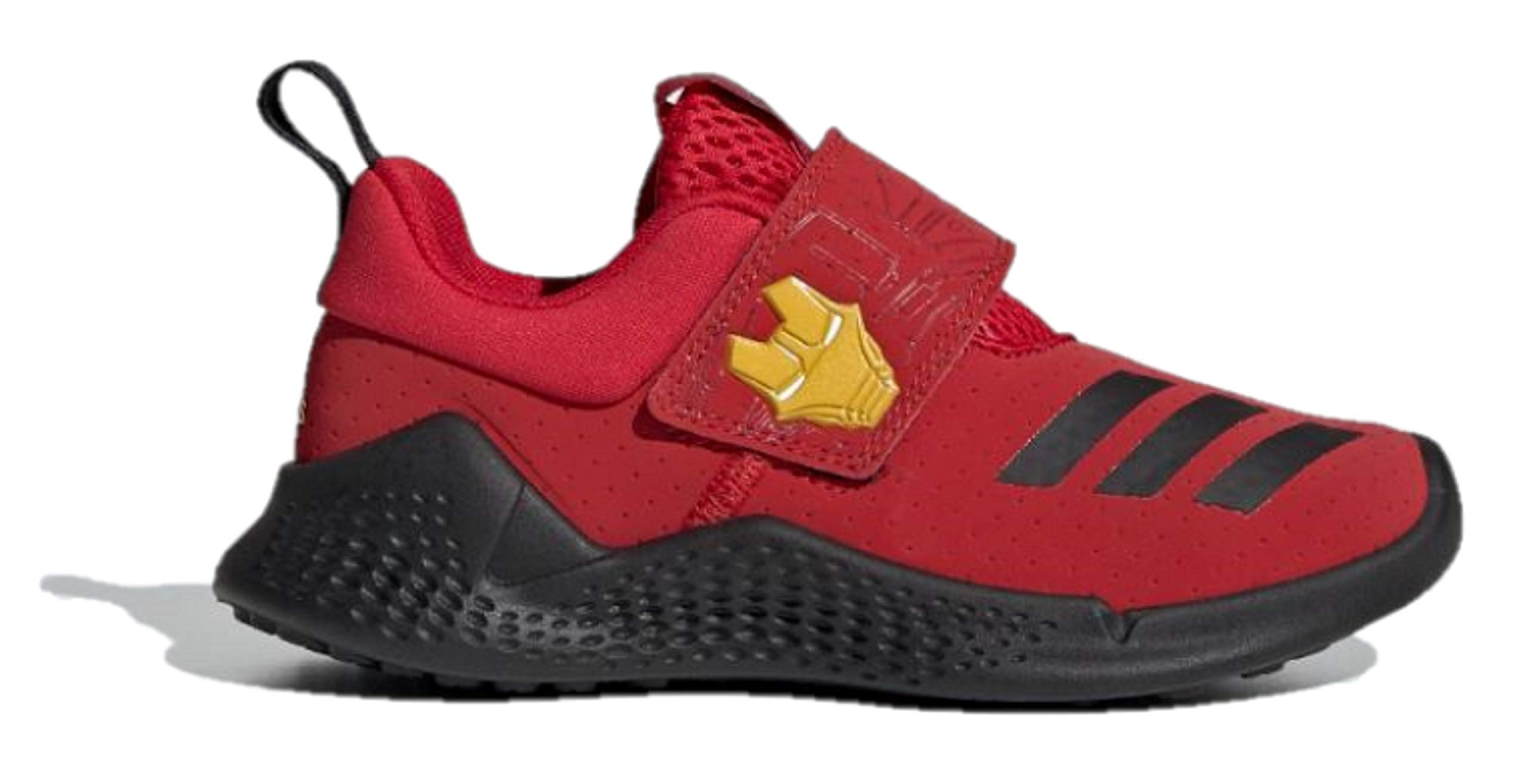 adidas Unisex Kids RapidaBounce Training Marvel Avengers C Limited Edition Sneakers (11.5 M US Little Kid, Scarlet/Core Black/Bold Gold)