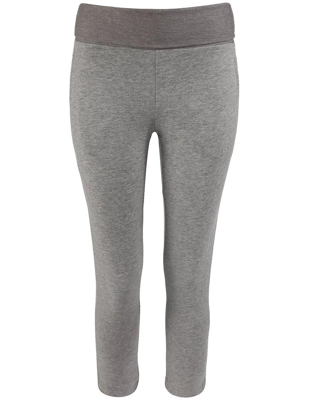 Bench Twopenny BGNK0216 Girls'Jogging Bottoms (Manufacturer Size: 13-14) B00RMXJO2SGrey Marl13-14