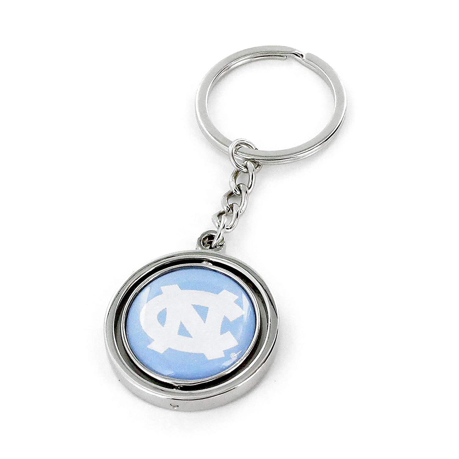 aminco NCAA North Carolina CCP-SK-741-05 Spinning Keychain One Size Multicolor