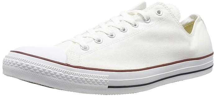 Détails sur Converse Femmes Us 6 Ue 36.5 Chuck Taylor Basse Optique Blanc Ox Chaussures