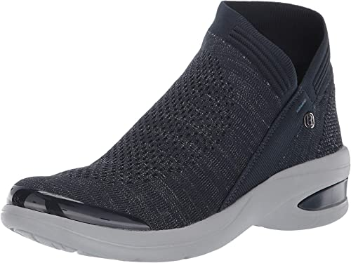 BZees Women's Romance Ankle Boot, Navy