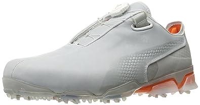 31a1d8e23 Puma Golf Men's TT Ignite DISC Shoe, Gray Violet/Vibrant Orange, ...