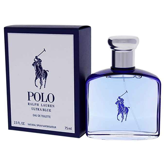 Ralph Lauren Ultra Blue, Agua de tocador para hombres - 75 ml ...