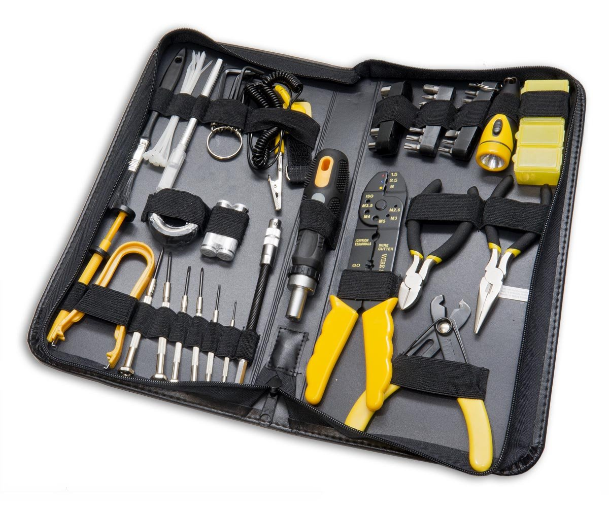 Syba 32 Piece Hobby Tool Kit Housed in a Fold out Case (SY-ACC65052)