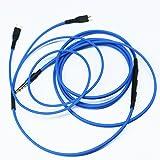 ketdirect Câble de rechange avec télécommande du volume et microphone pour Sennheiser HD25HD 25–1HD25–1II HD25–13hd25-c Casque pour Apple iPhone iPod iPad iOS uniquement