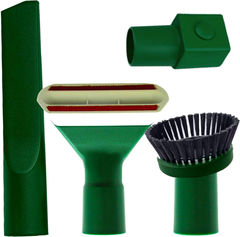 Maxorado Juego de boquillas para aspiradoras Vorwerk Kobold 118, 119, 120, 121 122 Tiger 250 252 VT vt250 vt251: Amazon.es: Hogar