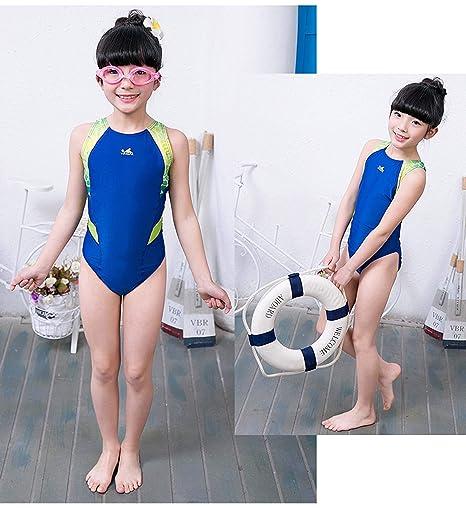 908e98fc81 YingFa One Piece Training Swimsuit for Girls Swimsuit for Competition  Training Swimsuit Girl's Size 6-