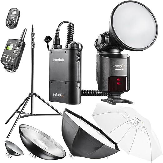 Walimex Pro Light Shooter 360 Portables Studio Set Kamera