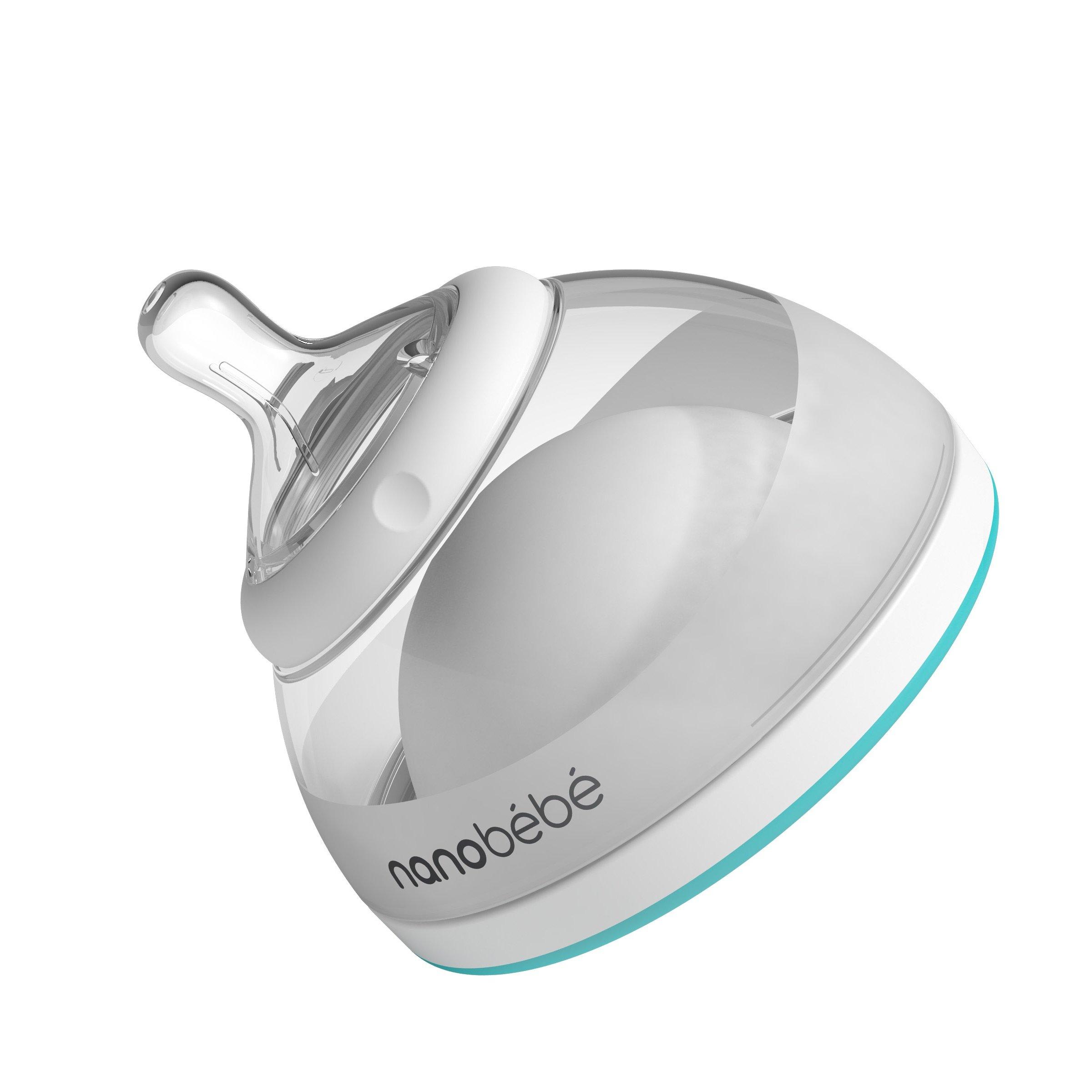 nanobebe Breast Milk Baby Bottle (Award Winning Innovation for Breastfed Babies)
