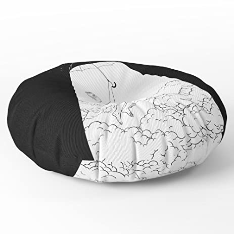 Amazon.com: Society6 Fly Me To The Moon Floor Pillow Round 30\