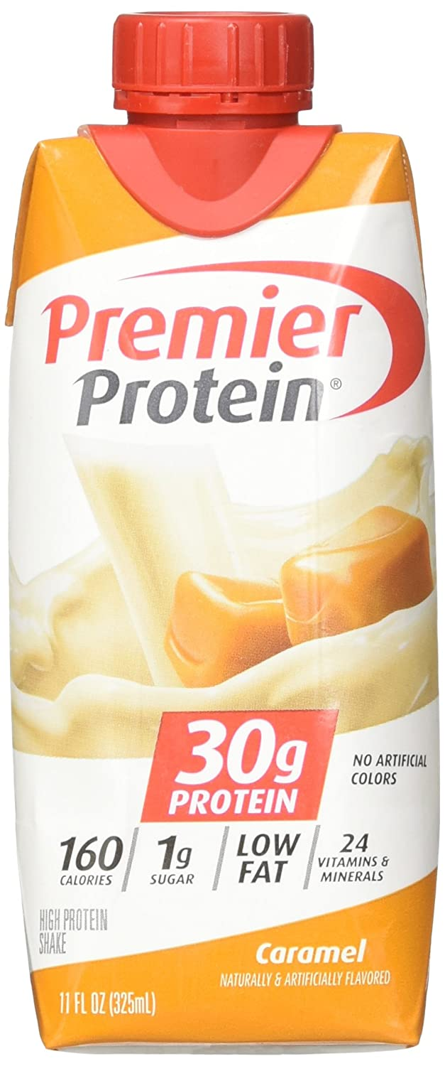 Premier Protein Caramel Shakes, 4 Count
