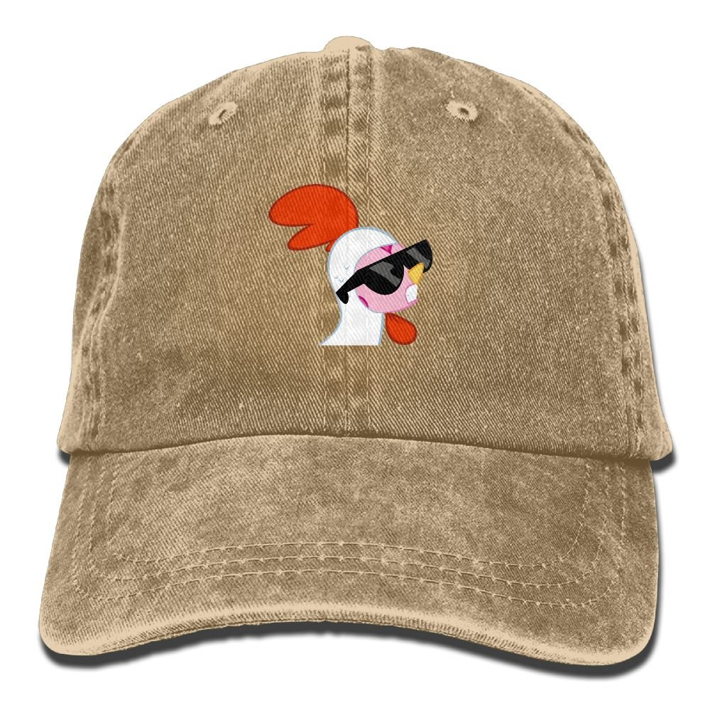 Lichang Sunglasses Chicken Womens Men' Punk New Cowboy Hipster Adjustable Cap For Gift