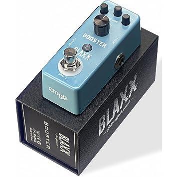 Stagg 22366 amplificador Pedal de efecto para guitarra eléctrica