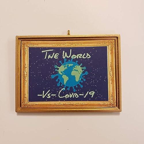Amazon Com The World Vs Covid 19 Christmas Tree Ornament Coronavirus Corona Virus Handmade