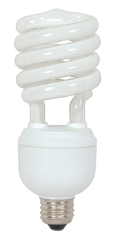 Satco Products S7386 65-Watt (300-Watt) 4300 Lumens Hi-Pro Spiral CFL Daylight White 5000K Medium Base 120-Volt Light Bulb
