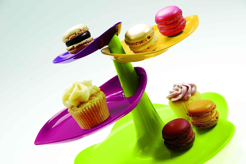"zak!designs 2017-N870 - Alzatina per dolci ""Sweety"", 29 x 19 cm ..."