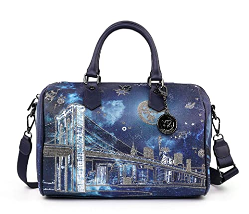 Borsa Y Not bauletto NewYork cosmic k 318  Amazon.it  Scarpe e borse 0194b24ece3