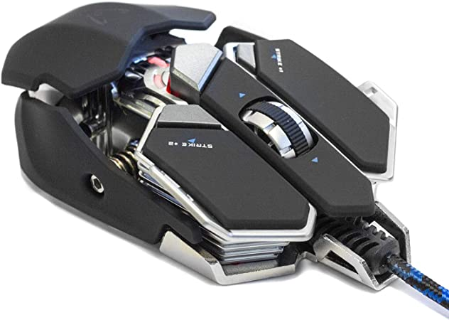 Oferta amazon: Woxter Stinger GX 250 M Black -Ratón Gaming Profesional (Estructura metálica,AVAGO 5050,Diseño Transformer,Macros,Rueda 3D,Resolución hasta 2000 dpi,Retroiluminado 4 colores/10 Botones programables)