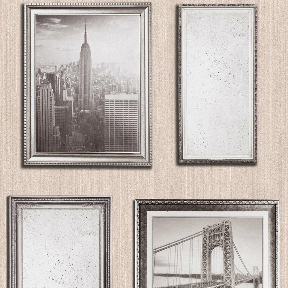 Muriva 701337 NYC Bilderrahmen, 6 Rollen, goldfarben: Amazon.de ...