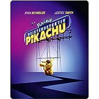Pokémon Meisterdetektiv Pikachu 3D + 2D Steelbook (exklusiv bei amazon.de) [Blu-ray]