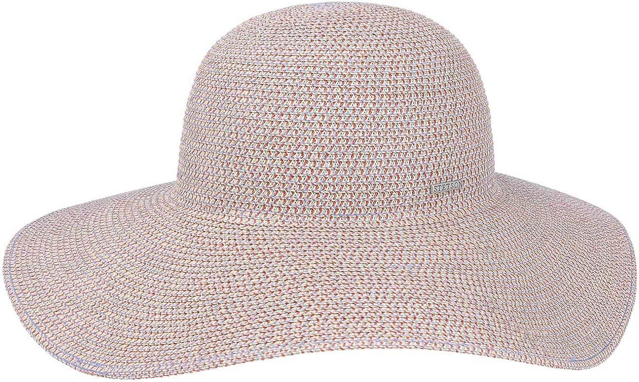 Stetson Capeline Flapper Toyo Femme Chapeau de Soleil pour Printemps-ete