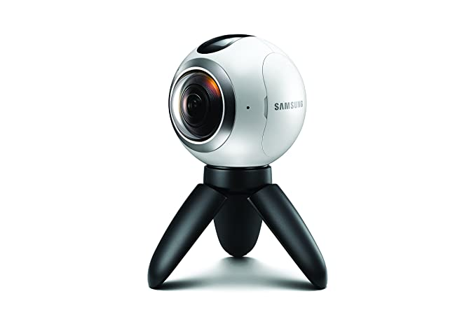 מעולה Amazon.com: Samsung Gear 360 Real 360° High Resolution VR Camera VP-47