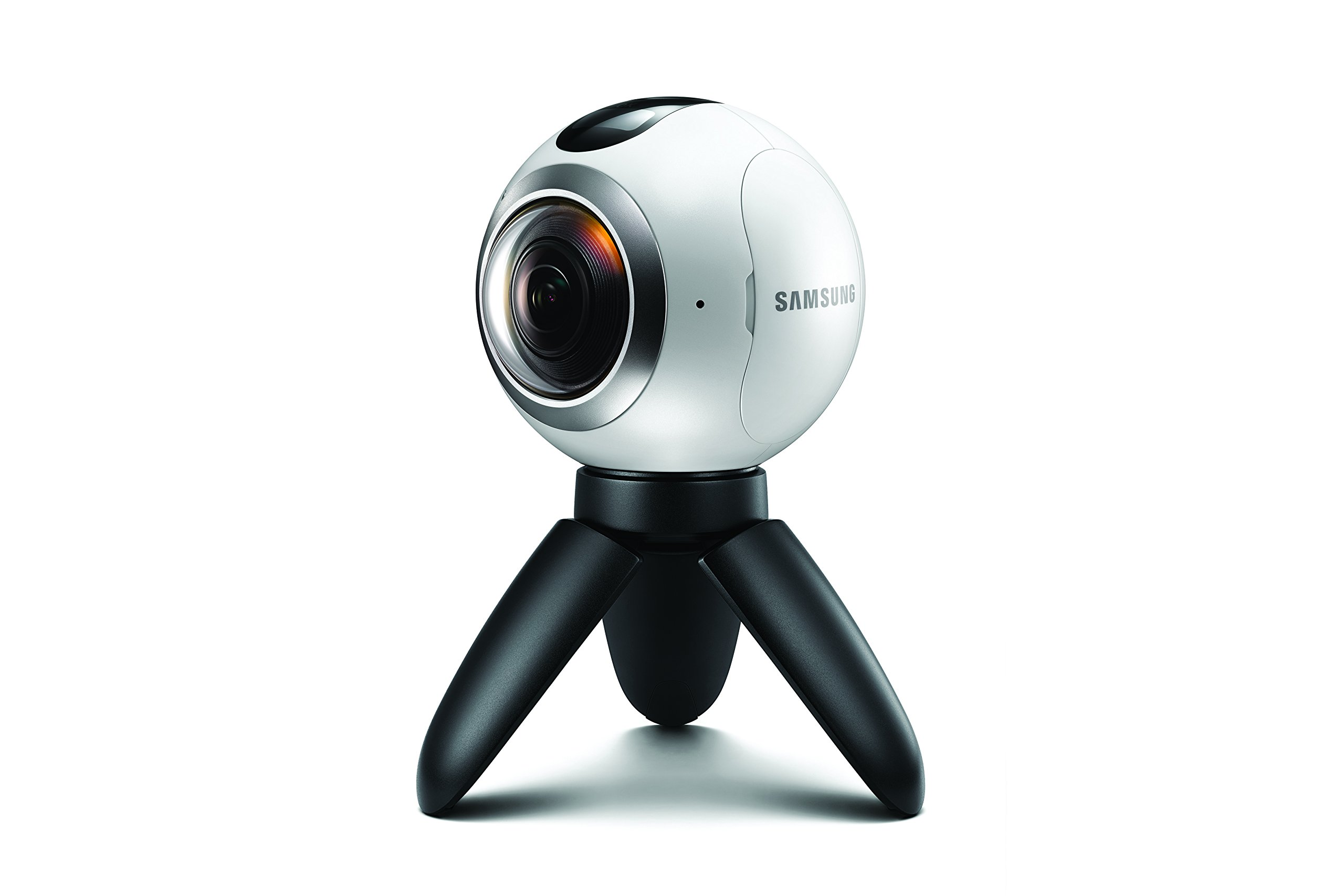 Samsung Gear 360 Real 360° High Resolution VR Camera (US Version with Warranty) by Samsung