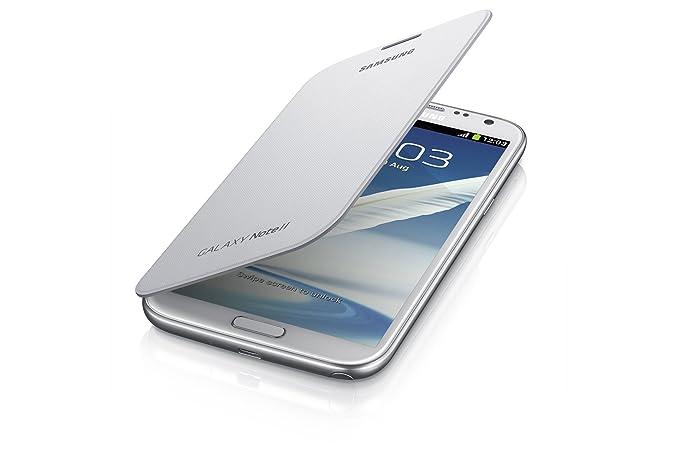 Samsung Galaxy Note 2 con Tapa, MarbleWhite, samsung Galaxy Note 2 ...