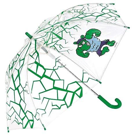 Paraguas kukuxumusu infantil Hulk