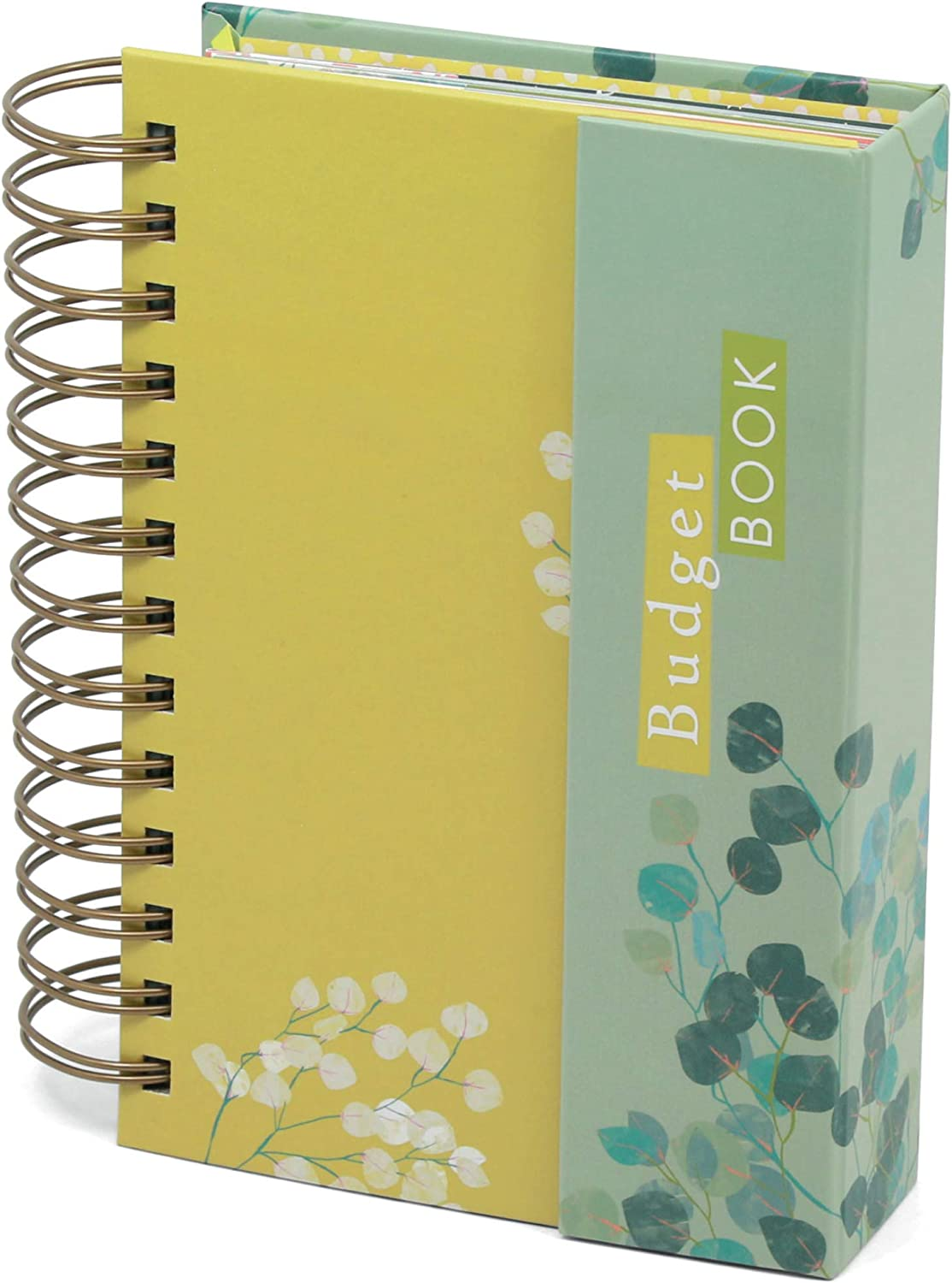 Boxclever Press Portable Budget Planner with Pockets. Bill Organizer with Expense Trackers. Take Control of Your Personal Finances with This Undated Planner. Compact Size Budget Book 7 x 4.5ins
