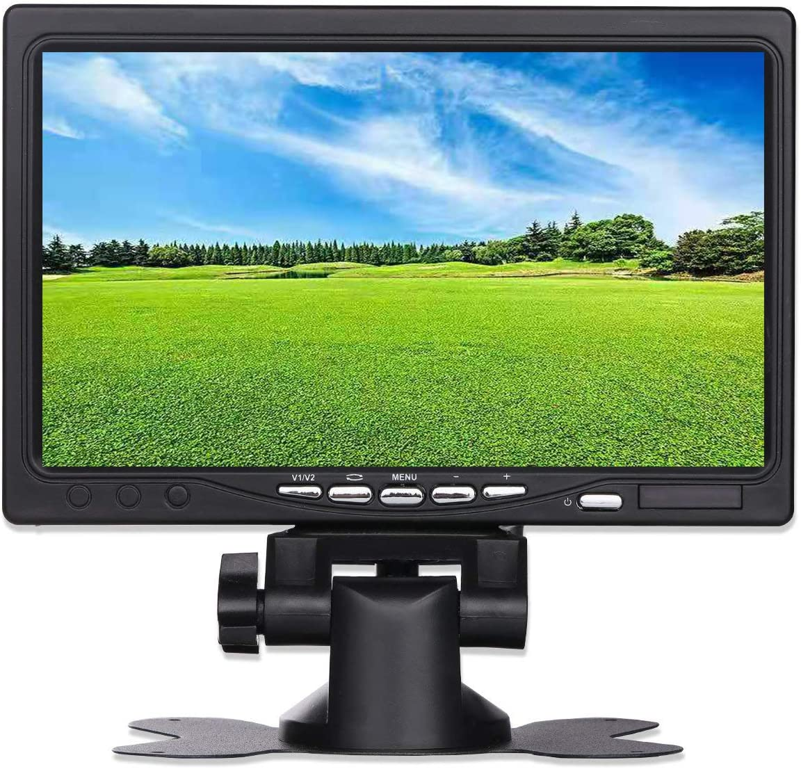 Amazon.com: UOTOO 7 inch Small Portable HDMI VGA 1024x600 HD LCD Monitor  for PC Laptop, TV, Security Camera, Raspberry pi 3 Display Screen Monitor,  Video HDMI Monitor, Build in Speaker: Computers &