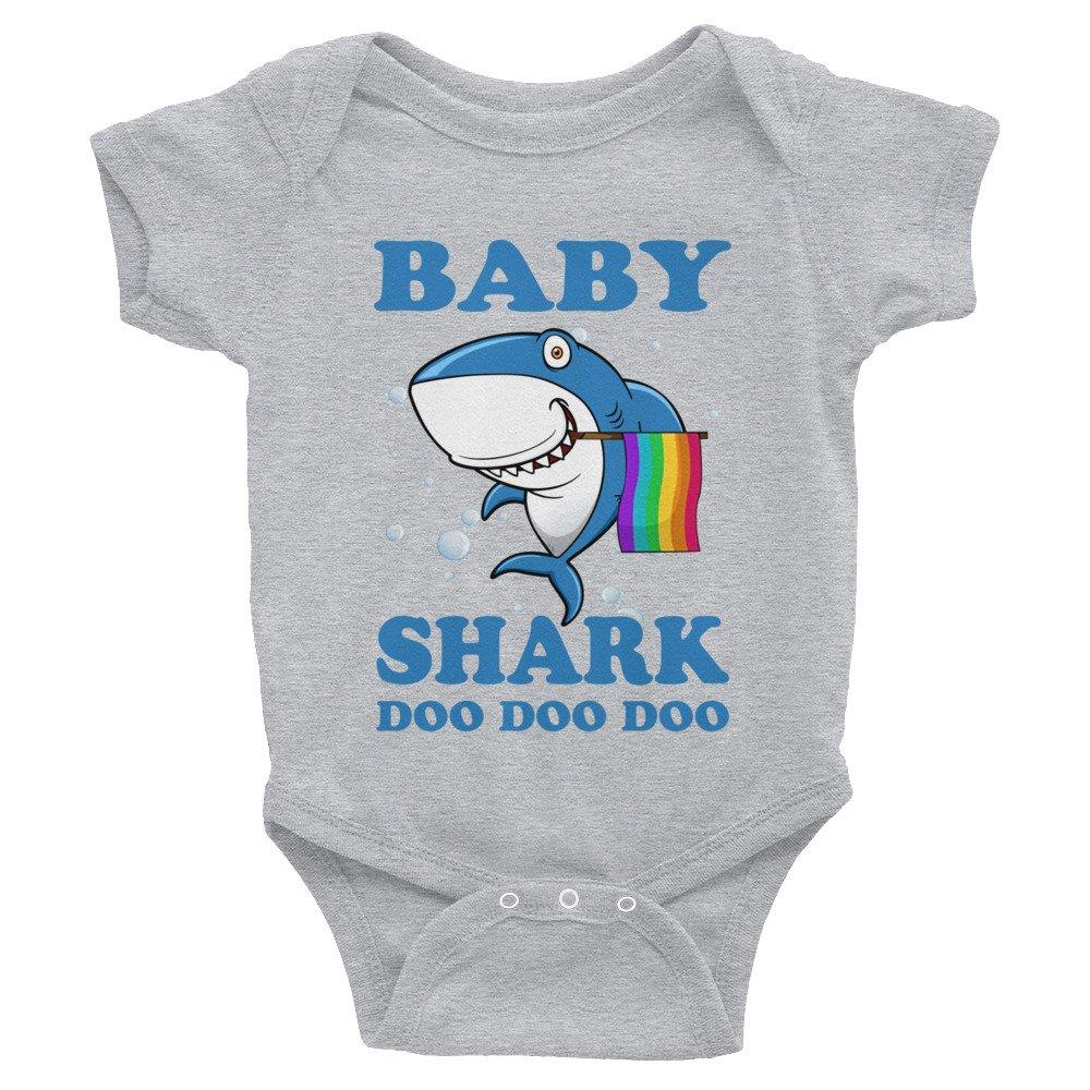 Eureka-Store Family LGBT Pride Shirt-LGBT Baby Shark Doo Doo Doo Onsies-Shark Lovers Shirt