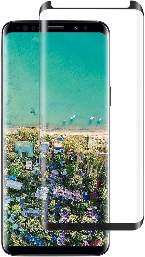 Protector de Pantalla para Samsung Galaxy S8 / S8 Plus/Note 8 Cristal Vidrio Templado Premium Resistente a Golpes Transparencia Sin Burbujas Oil Fingerprints Pantalla Protector (1 Pcs, S8 Plus): Amazon.es: Ropa y