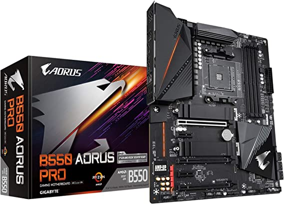 Gigabyte B550 Aorus Pro Atx Motherboard Socket Am4 M 2 Computers Accessories