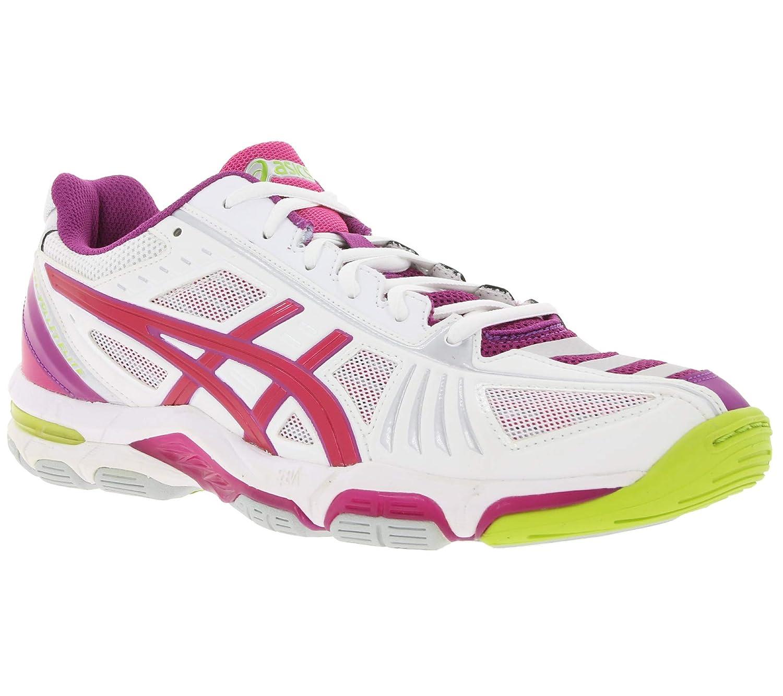 Asics Gel-Volley Elite 2 - Scarpe Scarpe Scarpe da pallavolo Donna - bianca Magenta Fuchsia (0125) | Gioca al meglio 62d35c